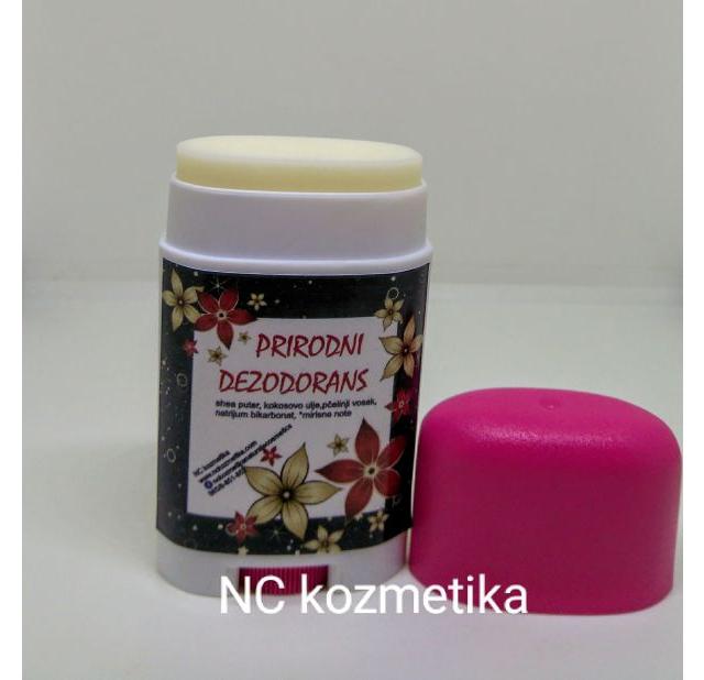 Prirodni dezodorans za žene
