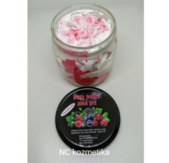 Body butter aloa gel - ŠUMSKO VOĆE