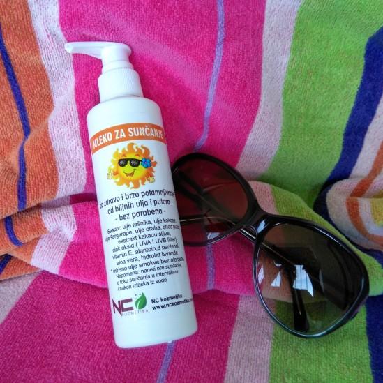 Mleko za sunčaanje NC kozmetika