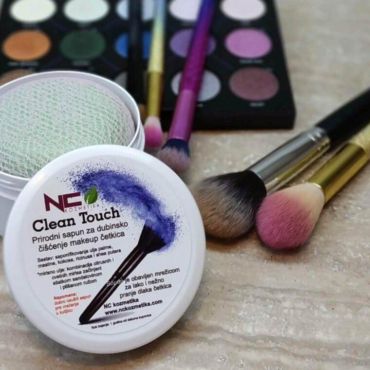Clean Touch - prirodni sapun za čišćenje makeup četkica